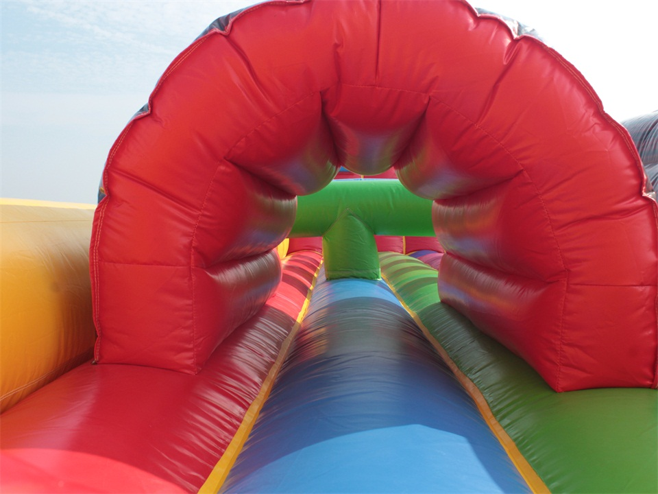 3 IN 1 inflatable Adult obstacle course