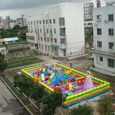 Inflatable Amusement Park,Inflatable fun city,Inflatable playground park