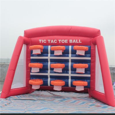 Inflatable Basketball Tic Tac Toe,Inflatable Tic Tac Toe,Inflatable Tic Tac Toe Ball Hoops